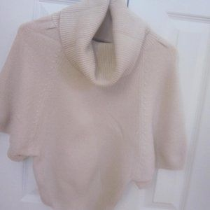 Mandee Cowlneck Sweater Cream Color